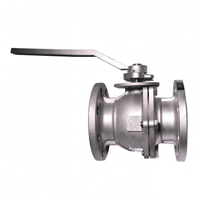 VTV 2pcs body ball valve, SS304, JIS 10K, 2""