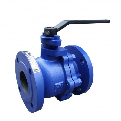 VTV 2pcs Body Ball Valve, Cast Iron, JIS 10K, 2""
