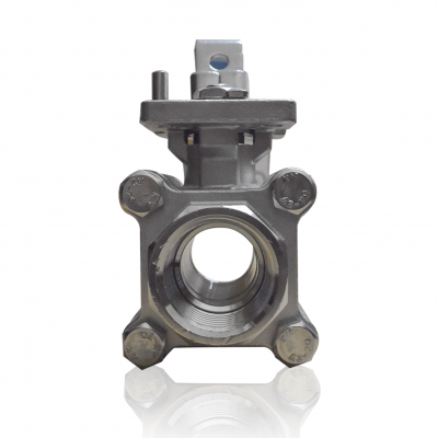 VTV 3 PC Body Ball Valve SS316, Screw end to 1000 WOG, 1/2""