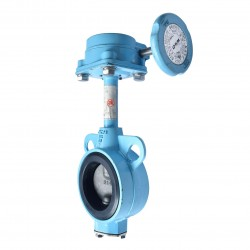 OVER STOCK Butterfly Valve OKM Gear ADC12 Fig 602, 2""