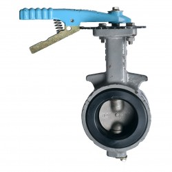 OVER STOCK Butterfly Valve OKM Level Cast Iron Fig 612, 2.5""