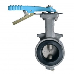 OVER STOCK Butterfly Valve OKM EPDM Level Cast Iron Fig 612, 8