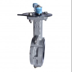 OVER STOCK Butterfly Valve OKM Level Cast Iron Fig 612, 8""