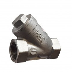VTV Class 200 Y Strainer Stainless Steel, SS316, SCREW 3/4""