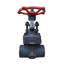 VTV Forged Steel Gate Valve Con. Socket Welded Class 1500, 1""