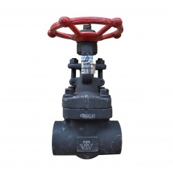 VTV Forged Steel Gate Valve Con. Socket Welded Class 1500, 2""